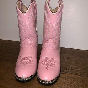 Pink Durango Girl's Cowboy Boots!  Sz 6.5